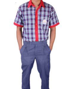 KV Uniforms - Boys Shirts (6th to 12th STD) - Vastra