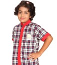 KV Uniforms - Girls Shirt (3rd to 8th STD) Online - Vastra