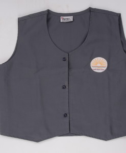 KV Uniforms - Girls Waistcoat (9th to 12th STD) Online - Vastra