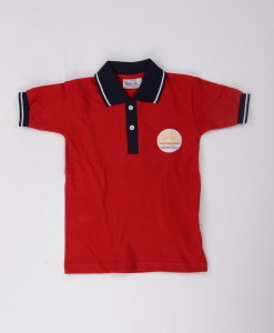 KV Uniforms - T-shirt ( Red) - Vastra