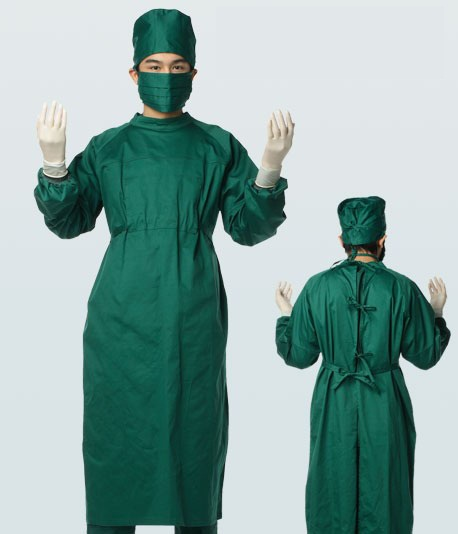 Surgical-gown_Hat_Mask